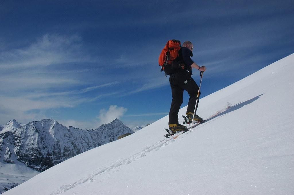 Pigne Arolla, Day 5 H.R. Chamonix-Zermatt Walliser Alpen / Alpes valaisannes Schweiz foto 35