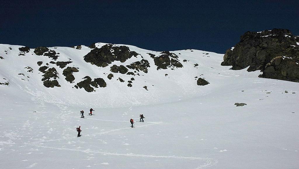 Pigne Arolla, Day 5 H.R. Chamonix-Zermatt Walliser Alpen / Alpes valaisannes Schweiz foto 33