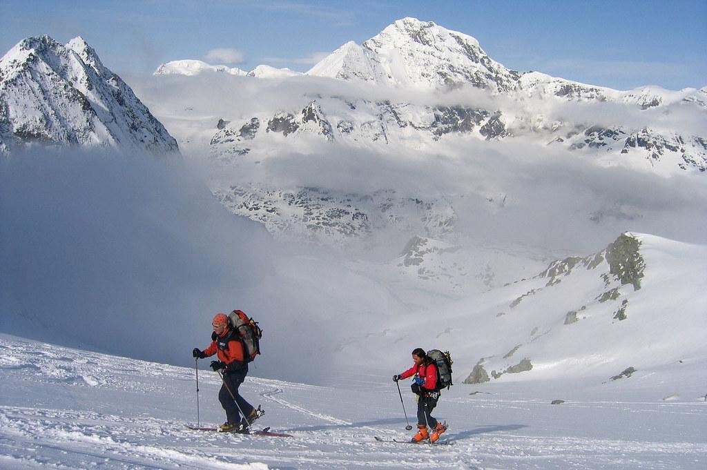 Pigne Arolla, Day 5 H.R. Chamonix-Zermatt Walliser Alpen / Alpes valaisannes Schweiz foto 44