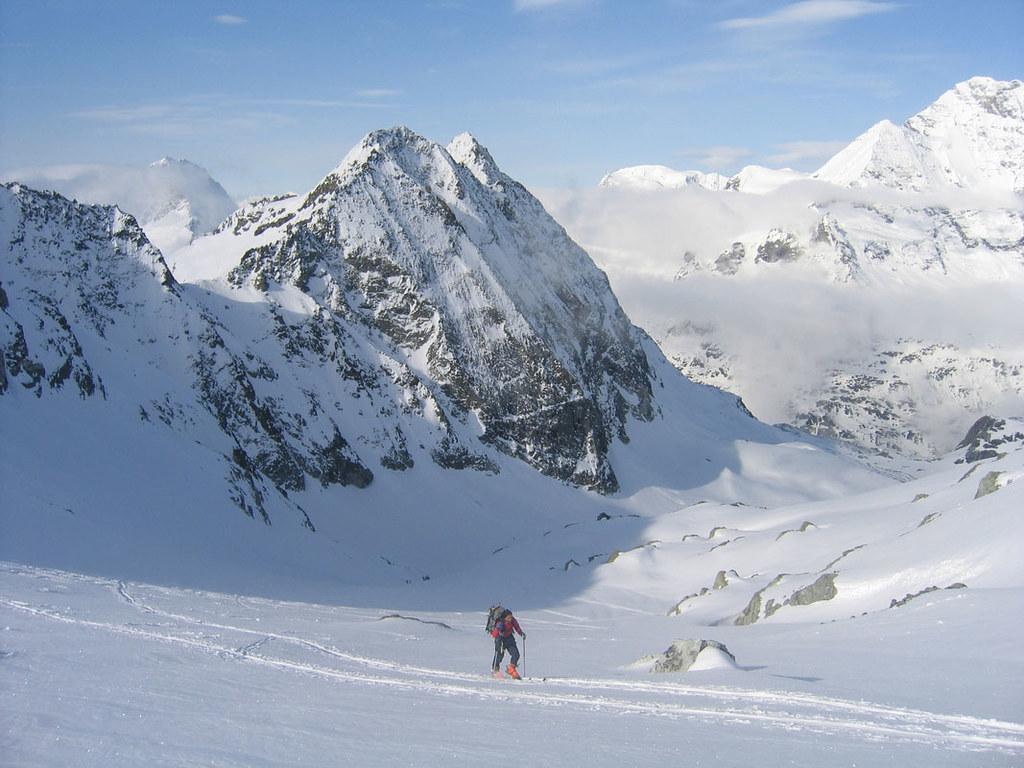 Pigne Arolla, Day 5 H.R. Chamonix-Zermatt Walliser Alpen / Alpes valaisannes Švýcarsko foto 43