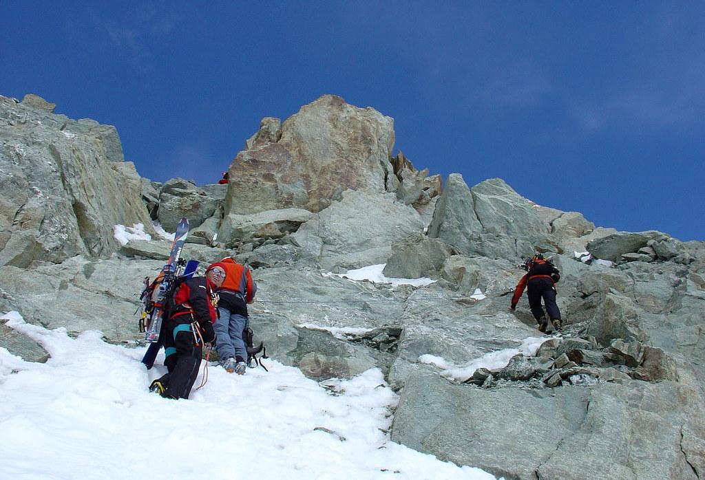 Pigne Arolla, Day 5 H.R. Chamonix-Zermatt Walliser Alpen / Alpes valaisannes Švýcarsko foto 46