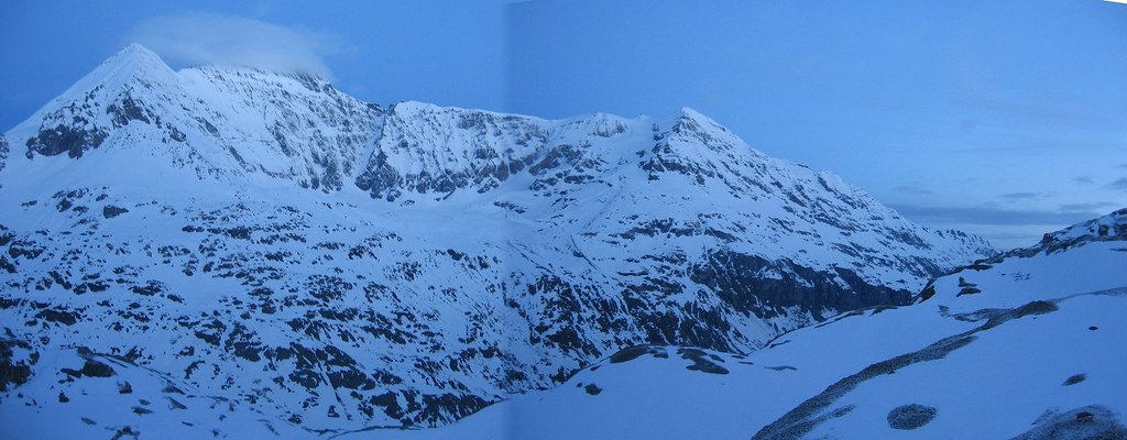 Pigne Arolla, Day 5 H.R. Chamonix-Zermatt Walliser Alpen / Alpes valaisannes Švýcarsko foto 08