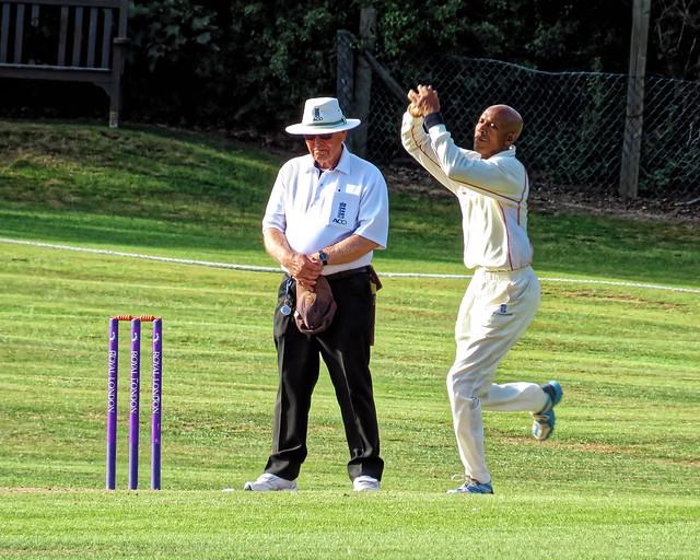 Essex v Wales at Bishop's Stortford, Herts, England, National Over 60s County Championship 205