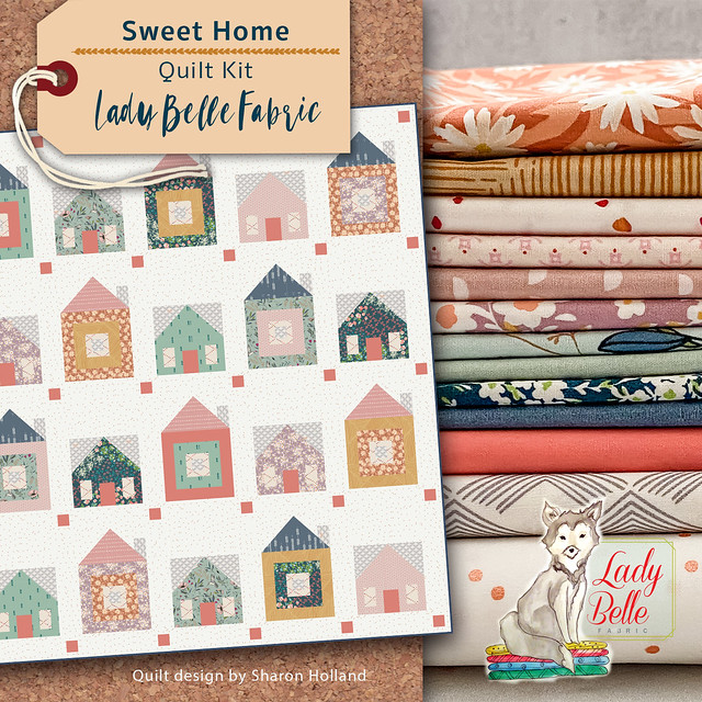 Lady Belle Fabric Quilt Kit