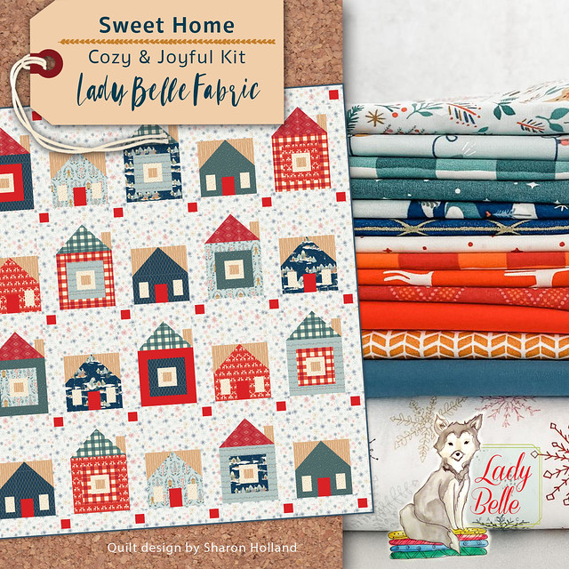 Lady Belle Fabric Kit Cozy & Joyful