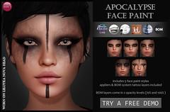 Apocalypse Face Paint