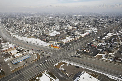 Intersection of 5400 South and Bangerter Highway, Salt Lake County
