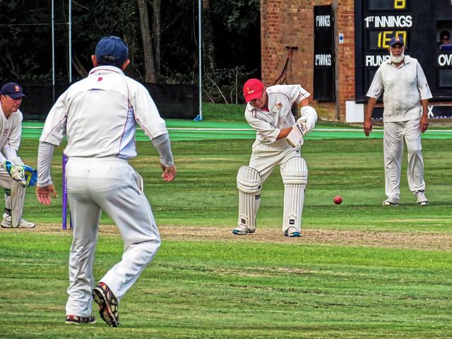 Essex v Wales at Bishop's Stortford, Herts, England, National Over 60s County Championship 150