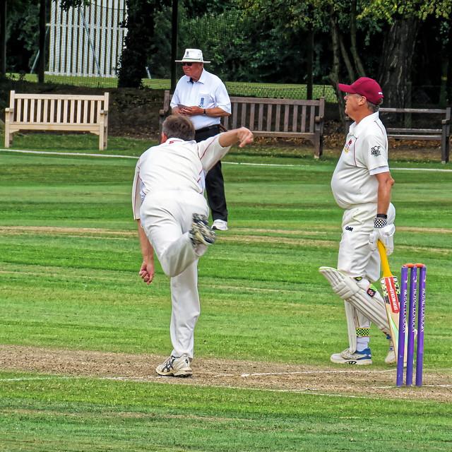 Essex v Wales at Bishop's Stortford, Herts, England, National Over 60s County Championship 130