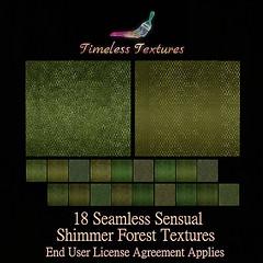 TT 18 Seamless Sensual Shimmer Forest Timeless Textures