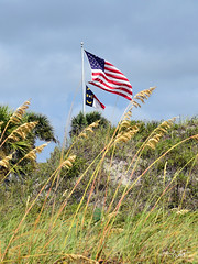 OIB Dunes Flags