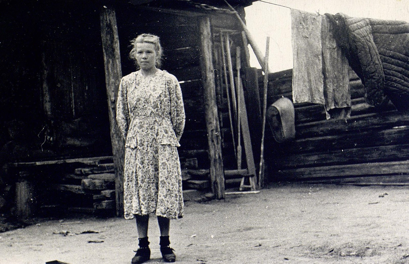 Телятница Е.Т. Кузнецова (26 лет)