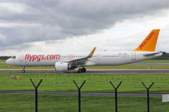 TC-RBB 1 Airbus A321-251NX Pegasus Airlines MAN 03SEP20