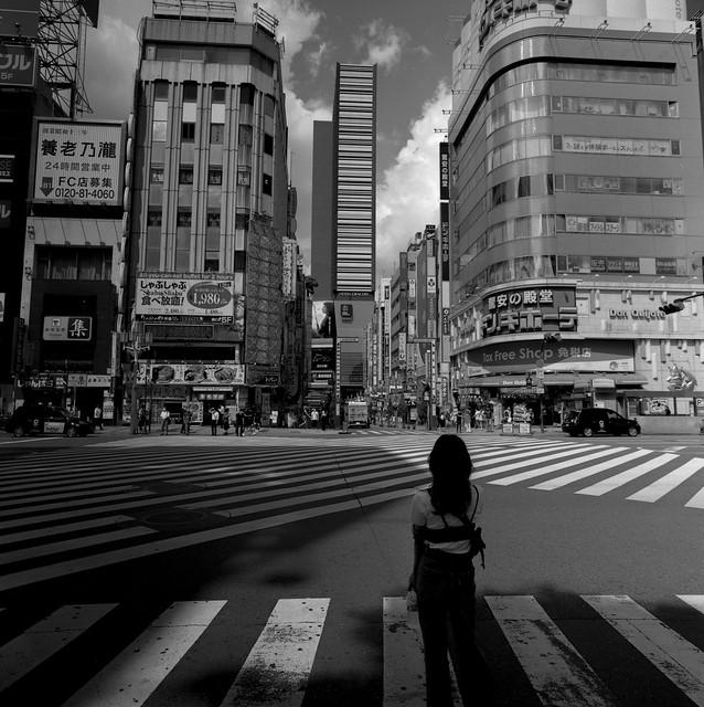 新宿モノクロームスナップ.2020