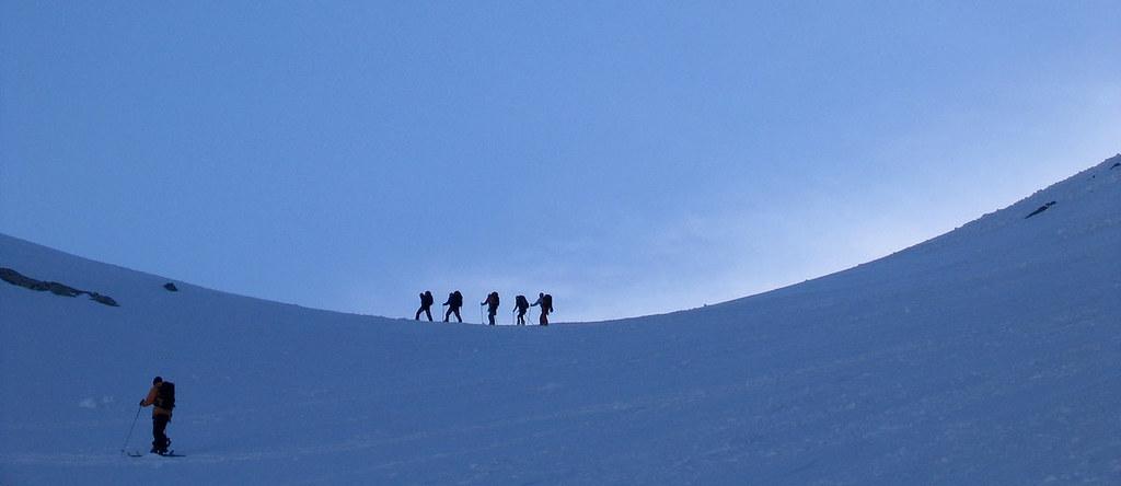 Pigne Arolla, Day 5 H.R. Chamonix-Zermatt Walliser Alpen / Alpes valaisannes Schweiz foto 15