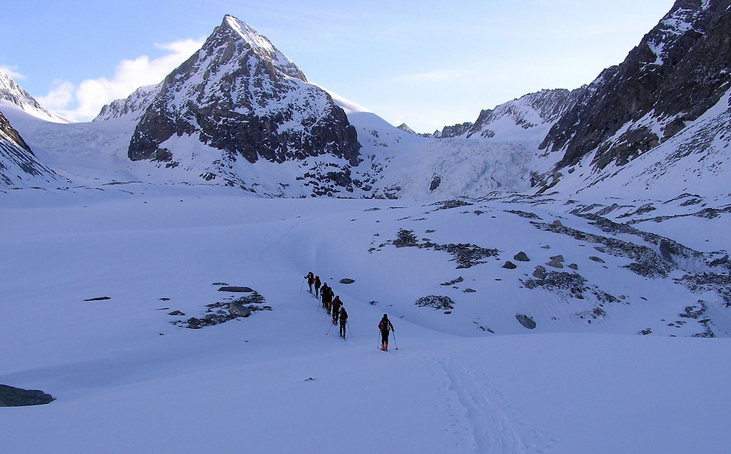 Pigne Arolla, Day 5 H.R. Chamonix-Zermatt Walliser Alpen / Alpes valaisannes Švýcarsko foto 22