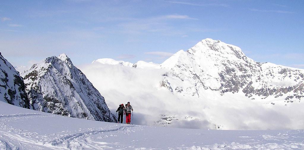 Pigne Arolla, Day 5 H.R. Chamonix-Zermatt Walliser Alpen / Alpes valaisannes Švýcarsko foto 32