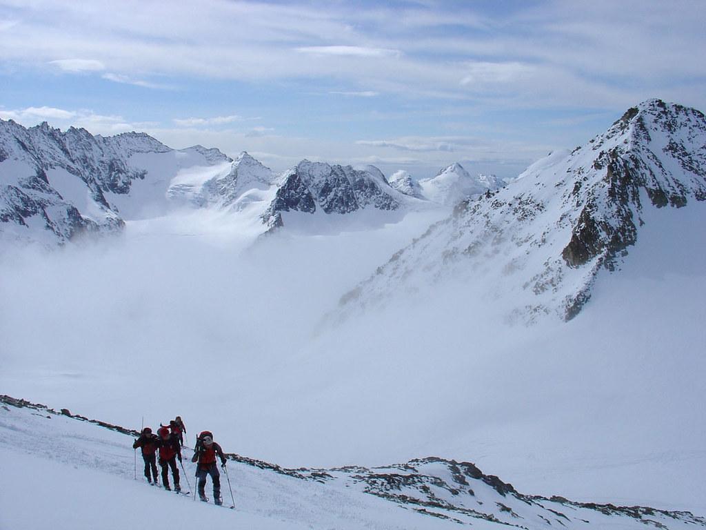 Pigne Arolla, Day 5 H.R. Chamonix-Zermatt Walliser Alpen / Alpes valaisannes Schweiz foto 31