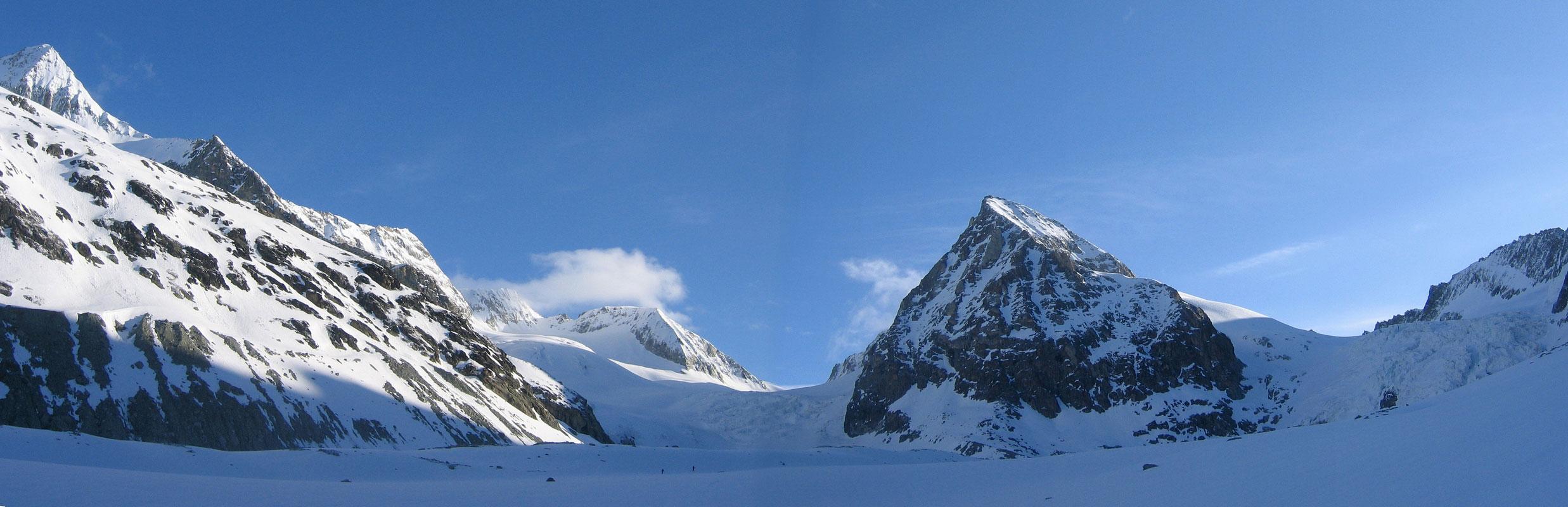 Pigne Arolla, Day 5 H.R. Chamonix-Zermatt Walliser Alpen / Alpes valaisannes Švýcarsko panorama 27