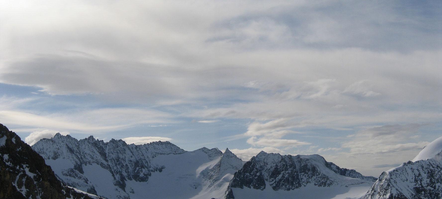 Pigne Arolla, Day 5 H.R. Chamonix-Zermatt Walliser Alpen / Alpes valaisannes Švýcarsko panorama 40