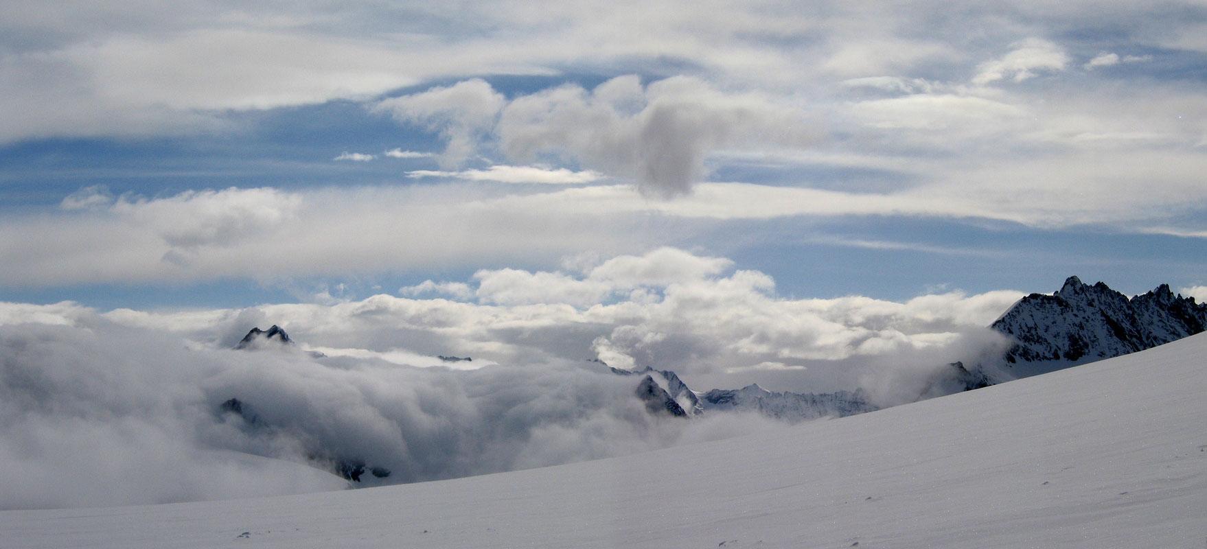 Pigne Arolla, Day 5 H.R. Chamonix-Zermatt Walliser Alpen / Alpes valaisannes Švýcarsko panorama 41