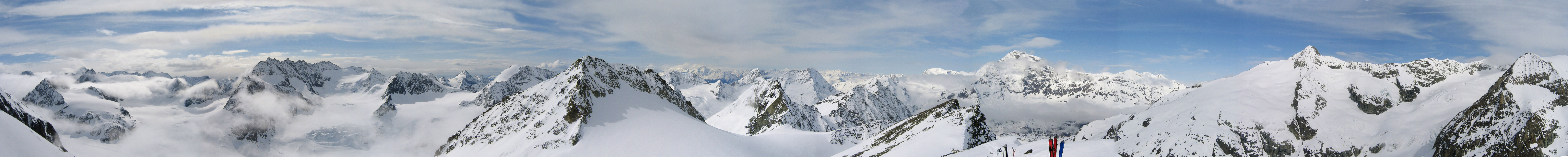 Pigne Arolla, Day 5 H.R. Chamonix-Zermatt Walliser Alpen / Alpes valaisannes Schweiz panorama 52