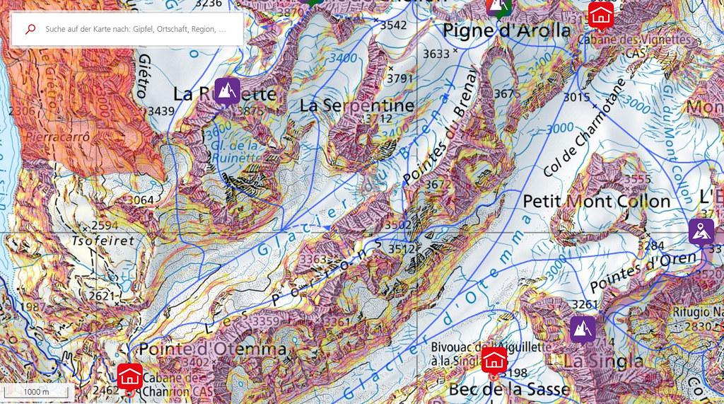 Pigne Arolla, Day 5 H.R. Chamonix-Zermatt Walliser Alpen / Alpes valaisannes Schweiz foto 06