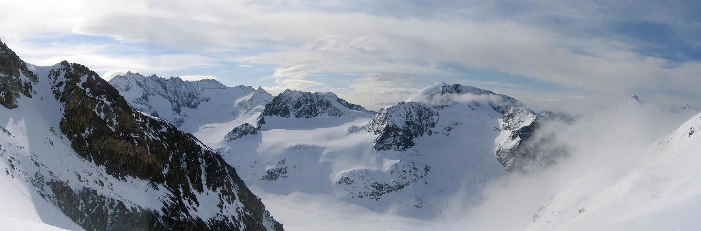 Pigne Arolla, Day 5 H.R. Chamonix-Zermatt Walliser Alpen / Alpes valaisannes Schweiz panorama 50