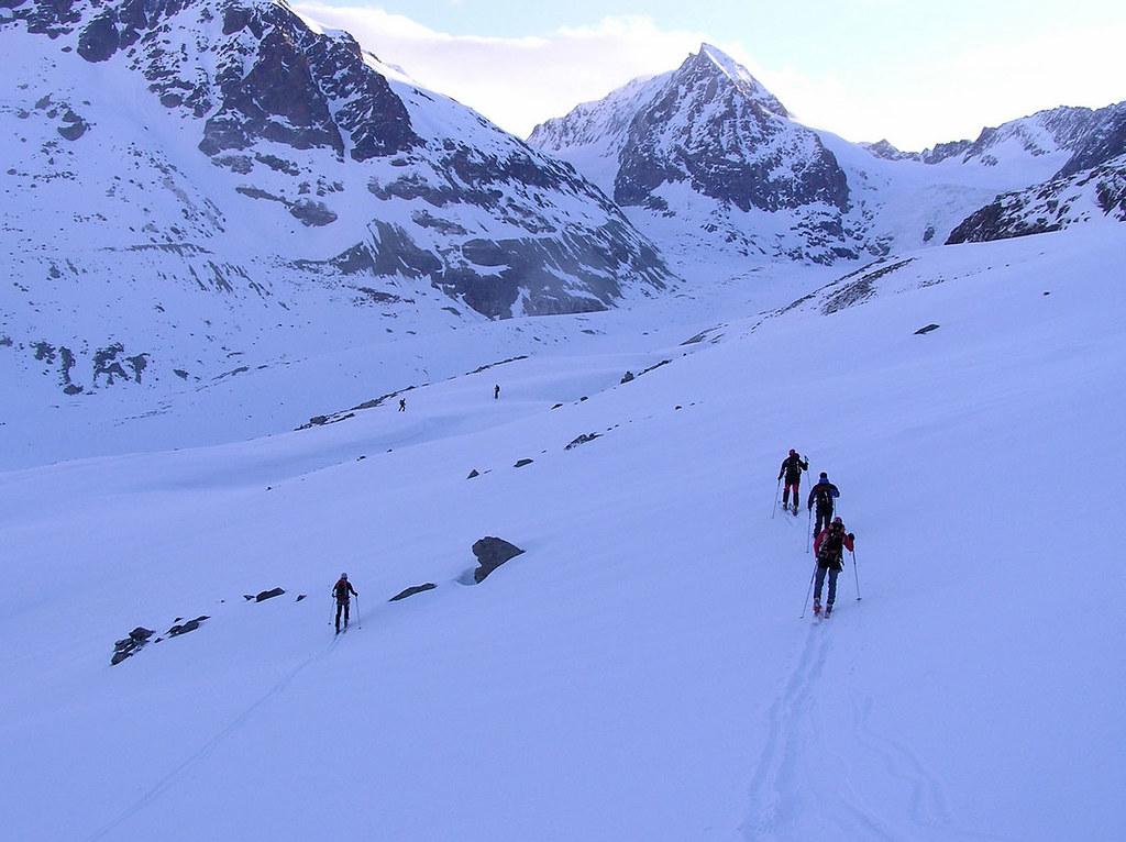 Pigne Arolla, Day 5 H.R. Chamonix-Zermatt Walliser Alpen / Alpes valaisannes Schweiz foto 17