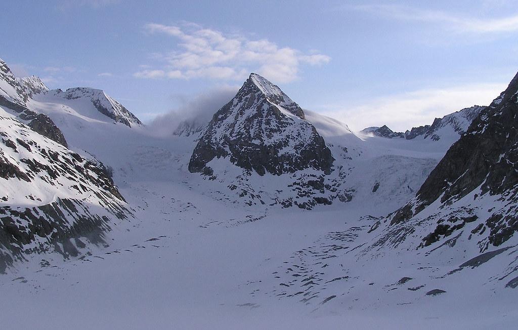 Pigne Arolla, Day 5 H.R. Chamonix-Zermatt Walliser Alpen / Alpes valaisannes Švýcarsko foto 25
