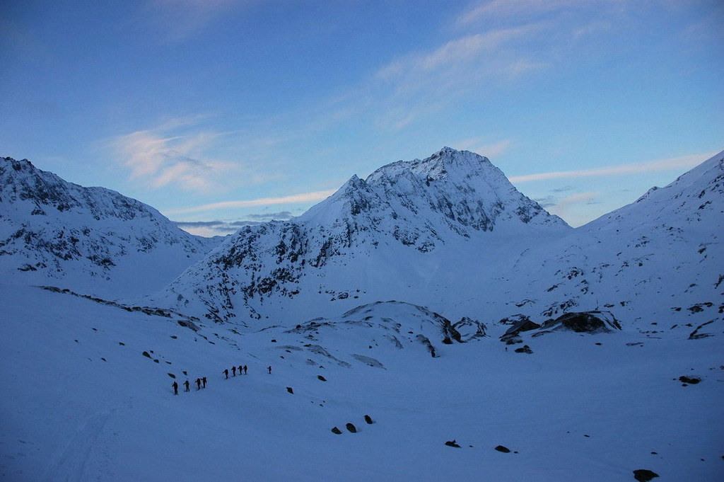 Pigne Arolla, Day 5 H.R. Chamonix-Zermatt Walliser Alpen / Alpes valaisannes Schweiz foto 16