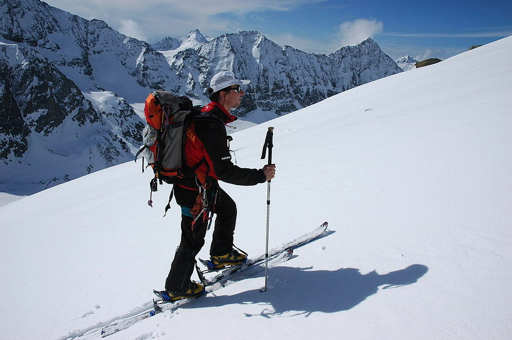 Pigne Arolla, Day 5 H.R. Chamonix-Zermatt Walliser Alpen / Alpes valaisannes Švýcarsko foto 34