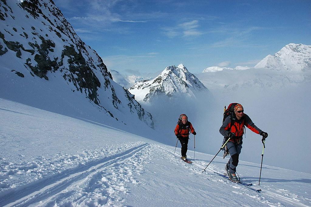 Pigne Arolla, Day 5 H.R. Chamonix-Zermatt Walliser Alpen / Alpes valaisannes Schweiz foto 36