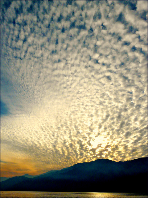 a West Coast sunset ...... of sunsets past