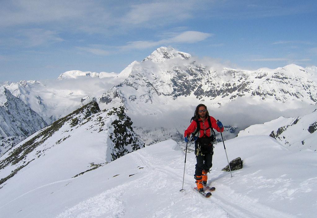 Pigne Arolla, Day 5 H.R. Chamonix-Zermatt Walliser Alpen / Alpes valaisannes Schweiz foto 38