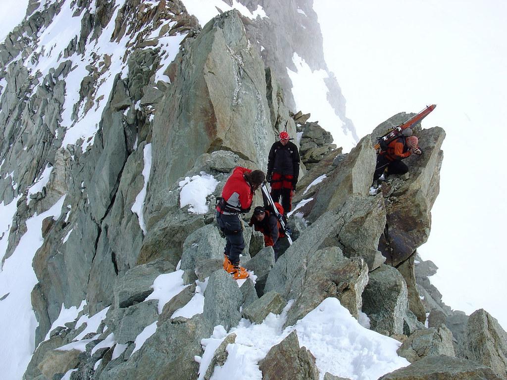 Pigne Arolla, Day 5 H.R. Chamonix-Zermatt Walliser Alpen / Alpes valaisannes Schweiz foto 47