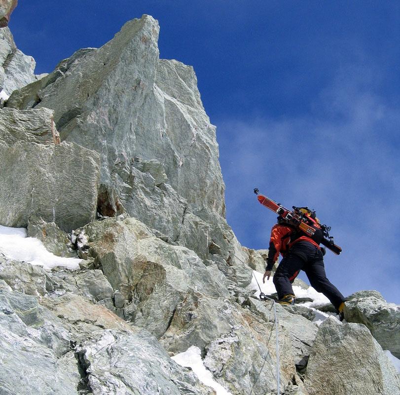 Pigne Arolla, Day 5 H.R. Chamonix-Zermatt Walliser Alpen / Alpes valaisannes Schweiz foto 45