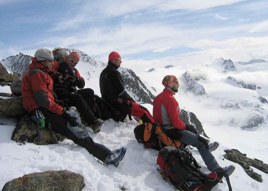 Pigne Arolla, Day 5 H.R. Chamonix-Zermatt Walliser Alpen / Alpes valaisannes Schweiz foto 42