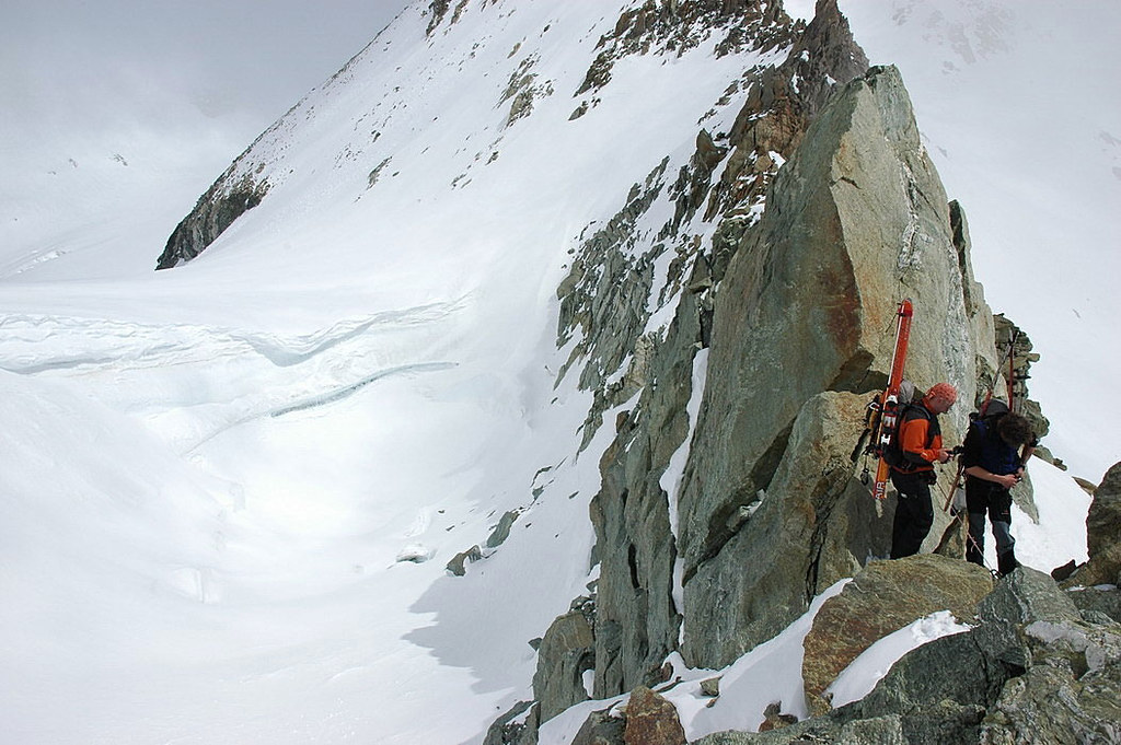 Pigne Arolla, Day 5 H.R. Chamonix-Zermatt Walliser Alpen / Alpes valaisannes Švýcarsko foto 49