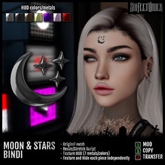 Six Feet Under - Moon & Stars Bindi