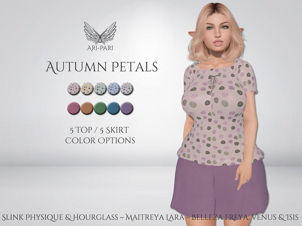 [Ari-Pari] Autumn Petals Outfit