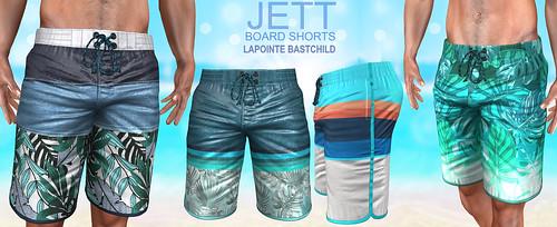 L&B@TMD:Sept 2020 Jett Board Shorts