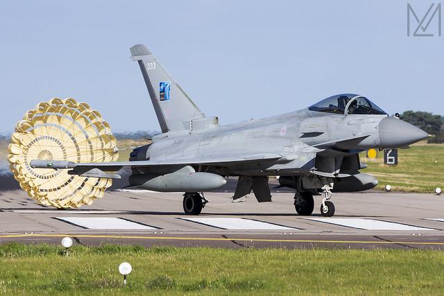 Royal Air Force, Typhoon FGR4, ZK333 / 333.