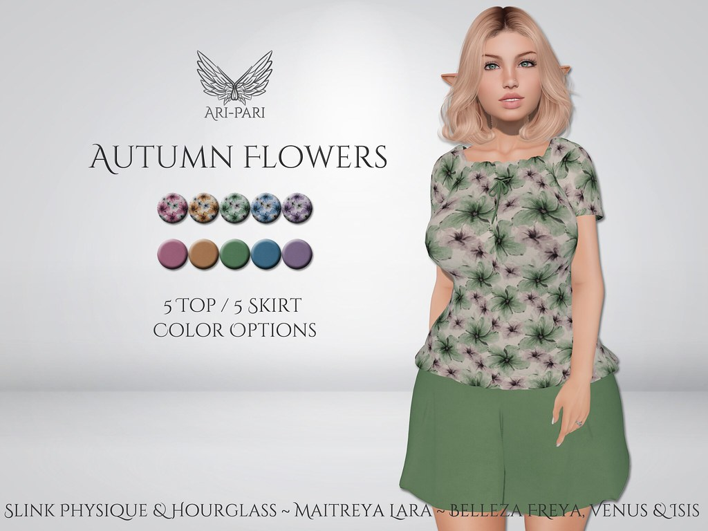 [Ari-Pari] Autumn Flowers Outfit