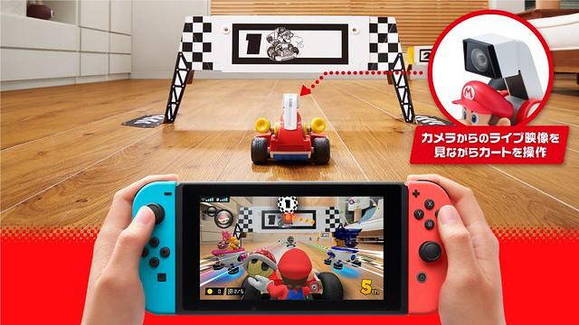 客廳變賽道!任天堂推出《瑪利歐賽車 LIVE 家庭賽車場》現實結合虛擬的新競速體驗