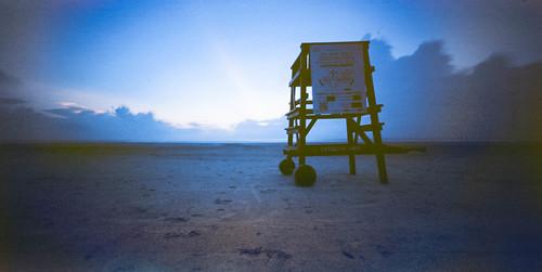 mediumformat sunrise pinhole ondu 6x17 iso100 panorama bluehour film ektar100 newsmyrnabeach florida unitedstates thebluehour