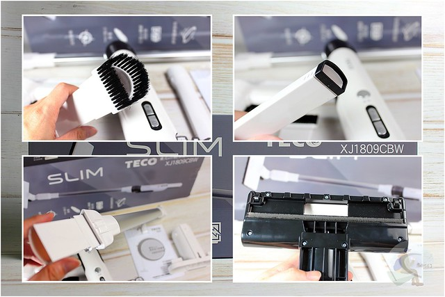 TECO 東元 slim 輕淨強力無刷吸塵器