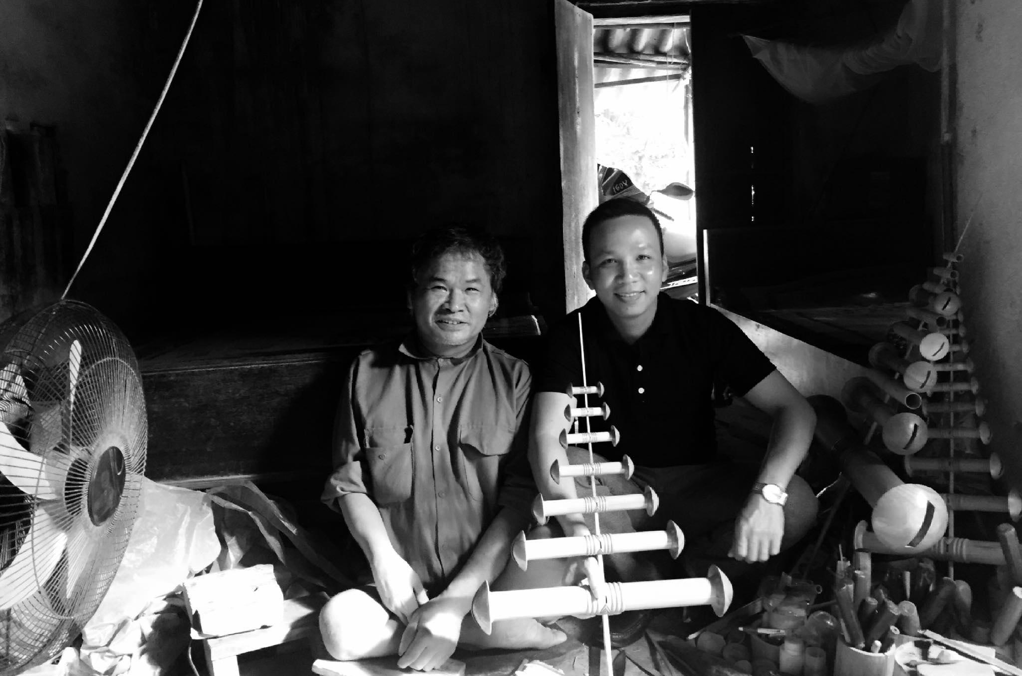 Chú Đỗ Đăng Hải và Hoàng Phú năm 2016