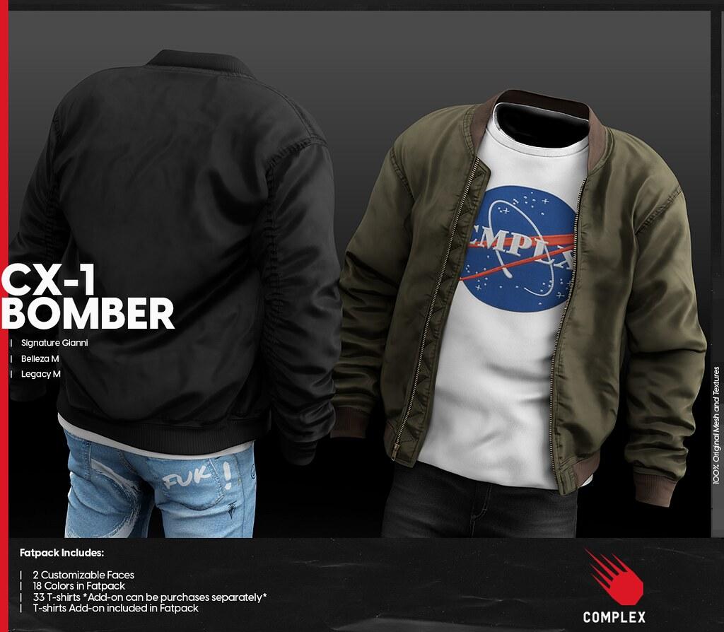 [COMPLEX] CX-1 BOMBER