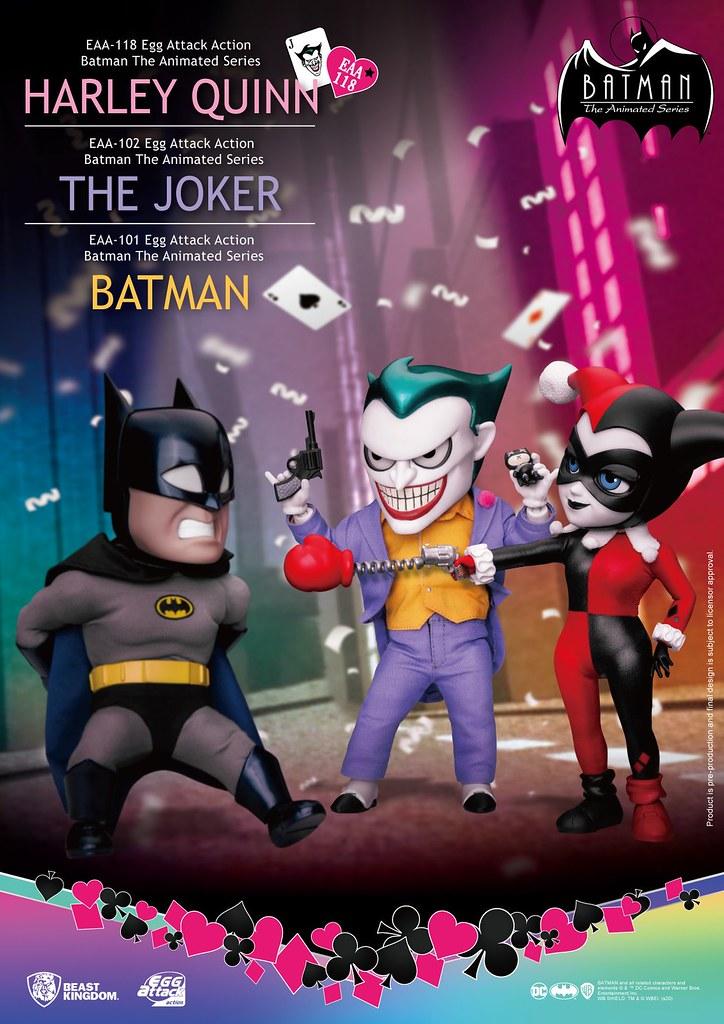 野獸國 EAA系列《蝙蝠俠:動畫系列》哈莉·奎茵 6 吋可動人偶